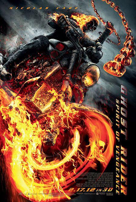 'Ghost Rider: Spirit of Vengeance' -- 17 de Feb -- Nuevo Trailer Ghostriderspiritposter
