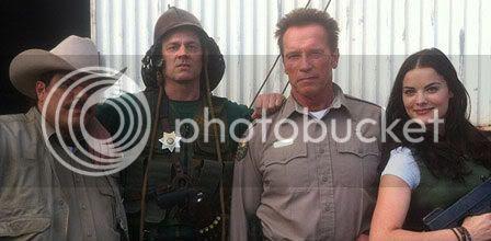 The Last Stand - Arnold Schwarzenegger ha vuelto a Hollywood Laststandfotorodaje