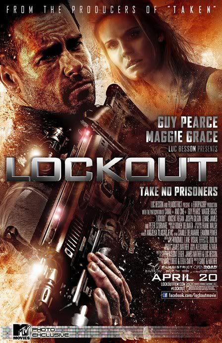 MS1: Máxima Seguridad (Lockout) (2012) Lockoutposter