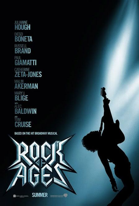 'Rock of Ages' - Poster y Trailer Rockofagesposter
