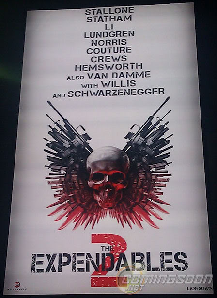 Hilo - The Expendables 2 (Los Mercenarios 2)  Theexpendables2promoposter