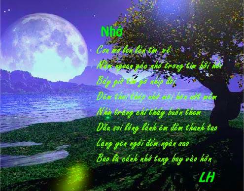 Tranh thơ Lữ Hoài Nh