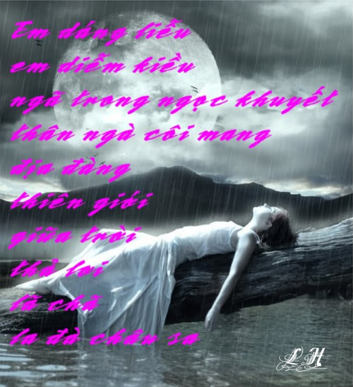Tranh thơ Lữ Hoài Tho