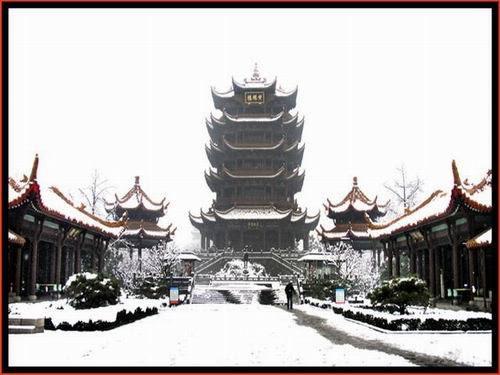 HOẠ THƠ : Hoàng Hạc Lâu Hhl5