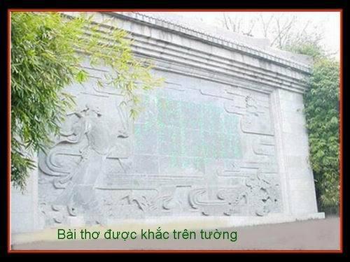 HOẠ THƠ : Hoàng Hạc Lâu Hhl6