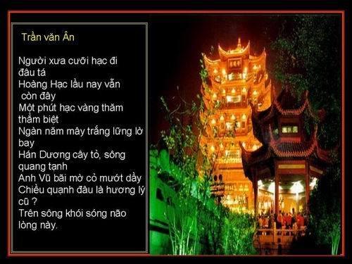 HOẠ THƠ : Hoàng Hạc Lâu Sl6