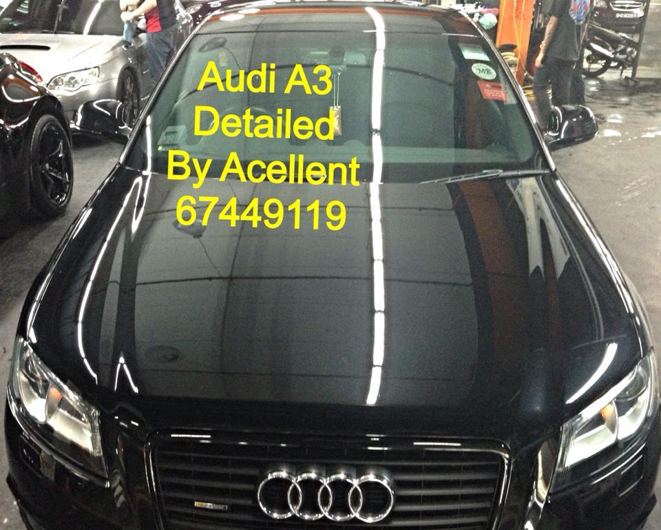 Acellent Zaino detailing & Auto insurance center AUDIA3