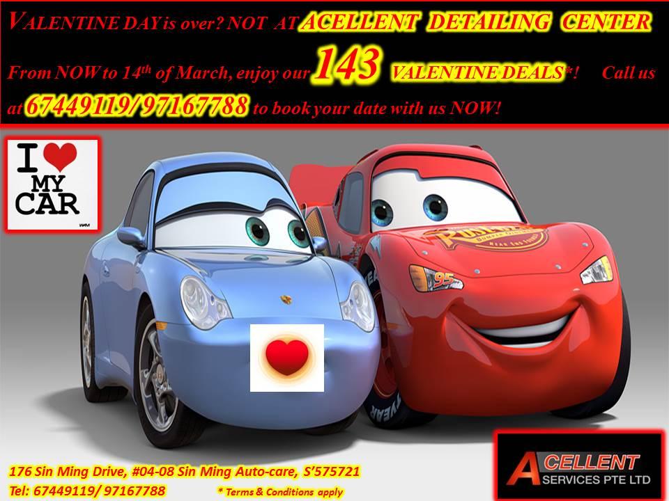 Acellent Zaino detailing & Auto insurance center VALENTINE2014PROMO