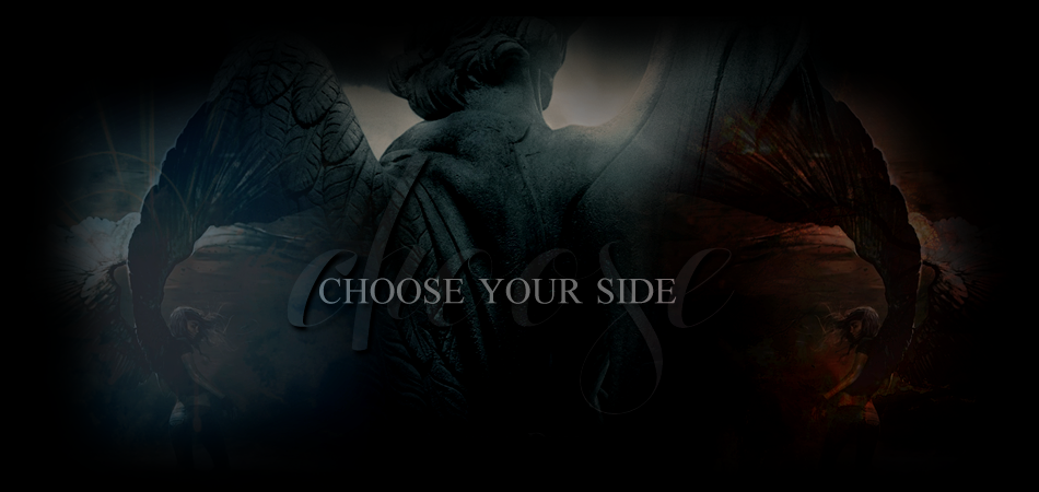 Choose your side.