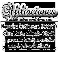 {Afiliaciones}