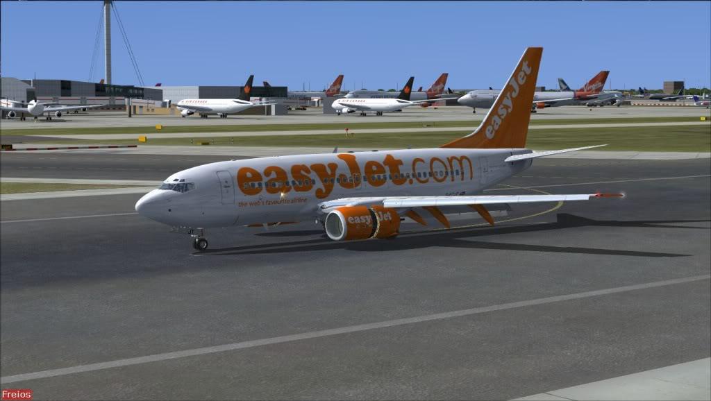 [FS9] LXGB - EGLL EasyJet34