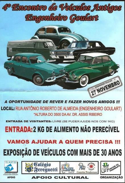 4º Encontro de veículos - Antigos Parte I Evento-2-1