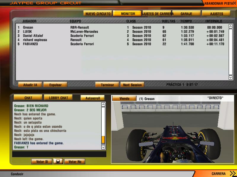 Entrenamientos Libres - Gran Premio De India India1