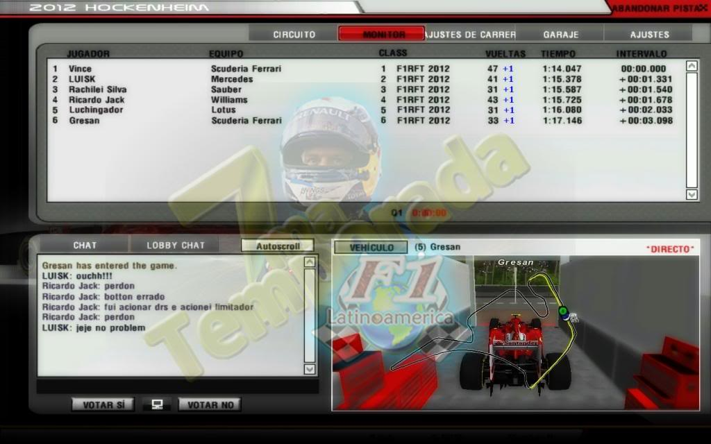 "Round 9 Gran Premio F1L Alemania ""Hockenheim"" 2013. RFactor2013-07-0421-17-43-06_zps9461385e"