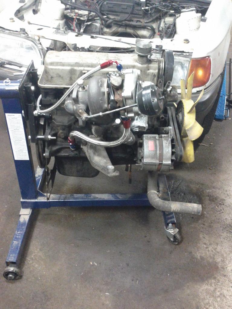 Joel - Ford Sierra 2,0 -88: Isbil goes turbo Update 2017-08-30 - Sida 2 74