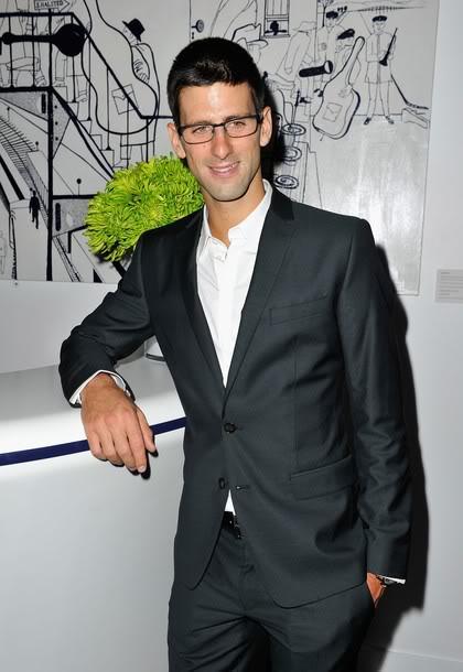 Novak Djokovic - LAUREUS AWARDS, Credits 2012: AP/Reuters/GettyImages