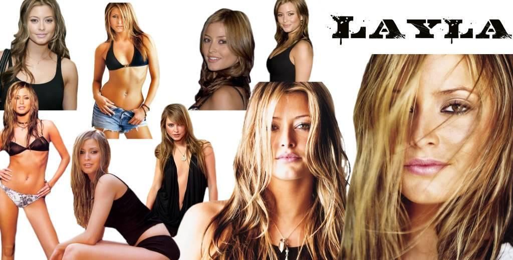 Como me imagino a los Hermanos y sus Shellans / otros personajes Layla