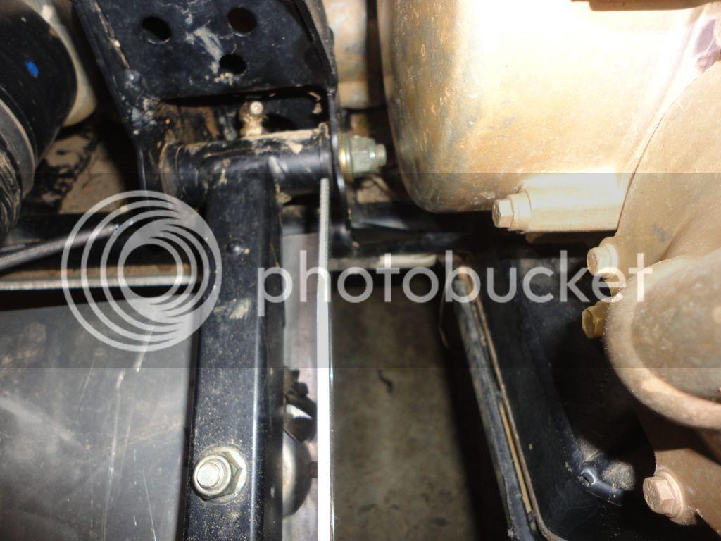 RZR a-arm bolt to close! DSC01531