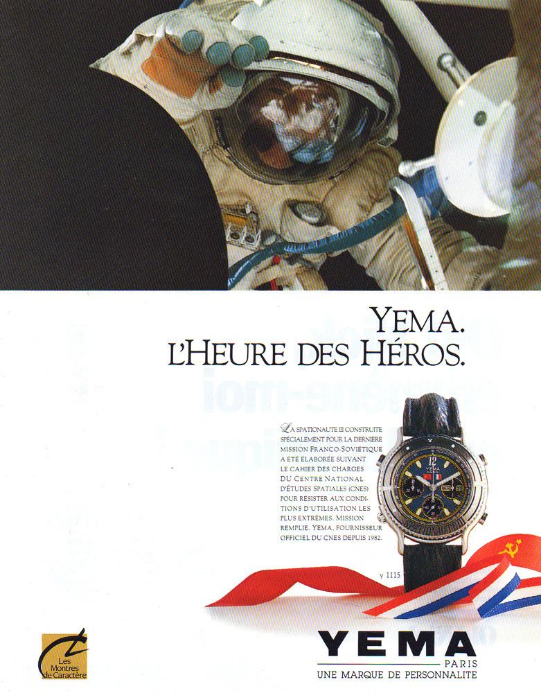 L'anniversaire du jour ! (partie 2) - Page 15 YemaSpationauteIII-advert1989