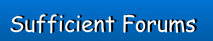 SufficientForum