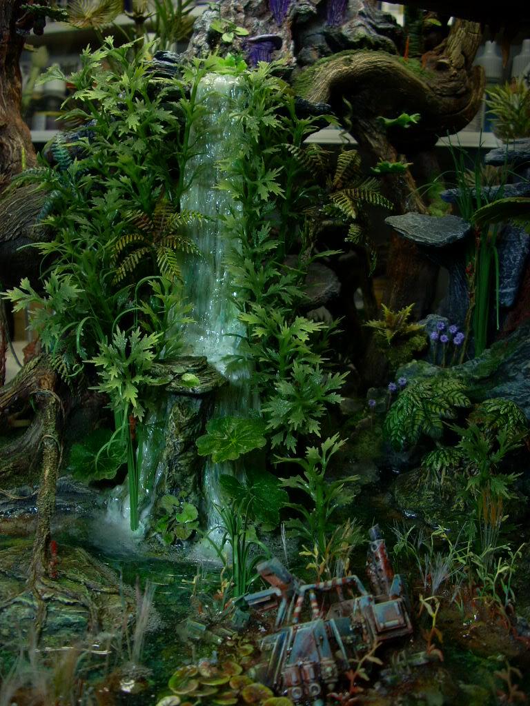 40K_Atelier décors en vue d'une nouvelle table Jungle DSCN8821