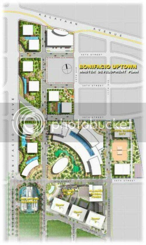 One Uptown Residence [ 45F l res l u/c ] UptownBonifacioMap