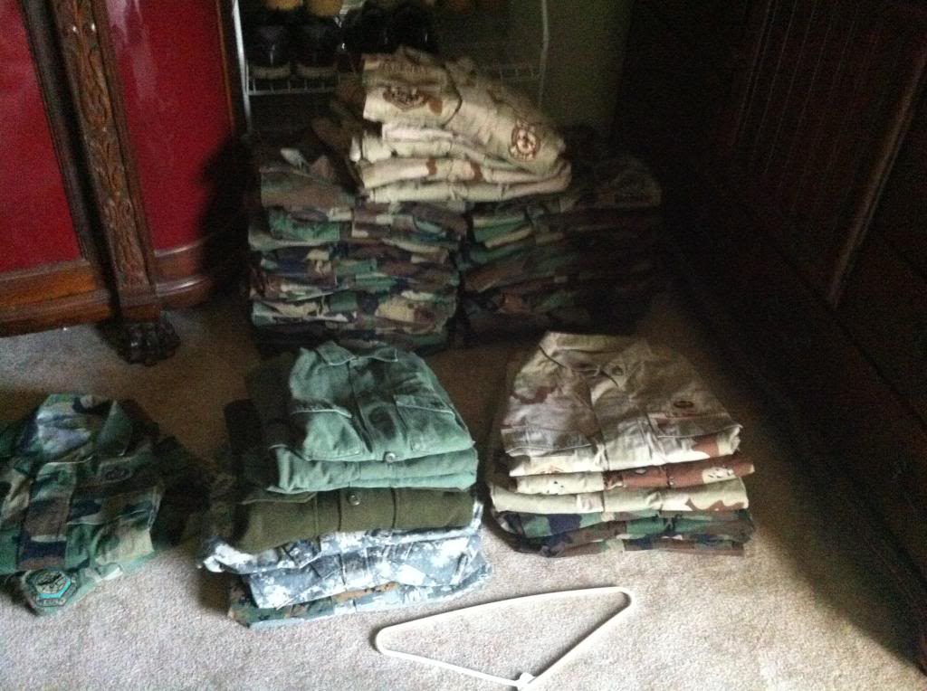 How to store BDU's, DCU's, and ACU's 053