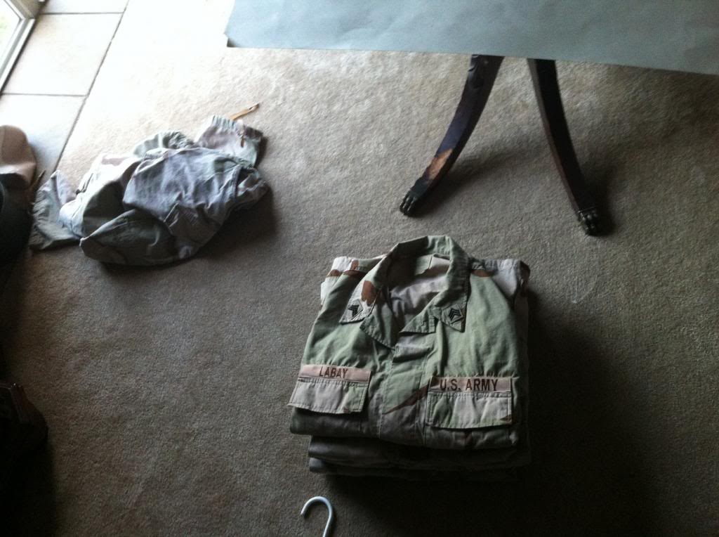 How to store BDU's, DCU's, and ACU's 054