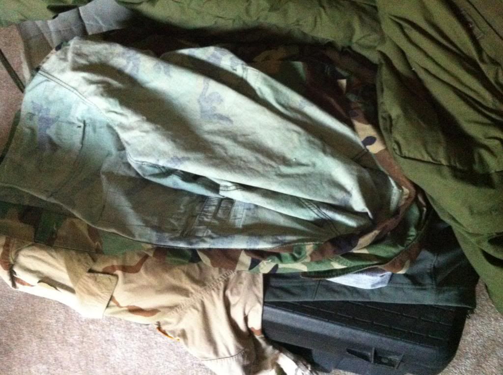 How to store BDU's, DCU's, and ACU's 055