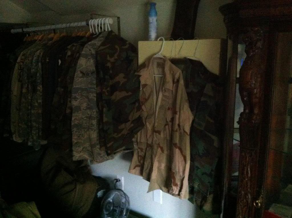 How to store BDU's, DCU's, and ACU's 056