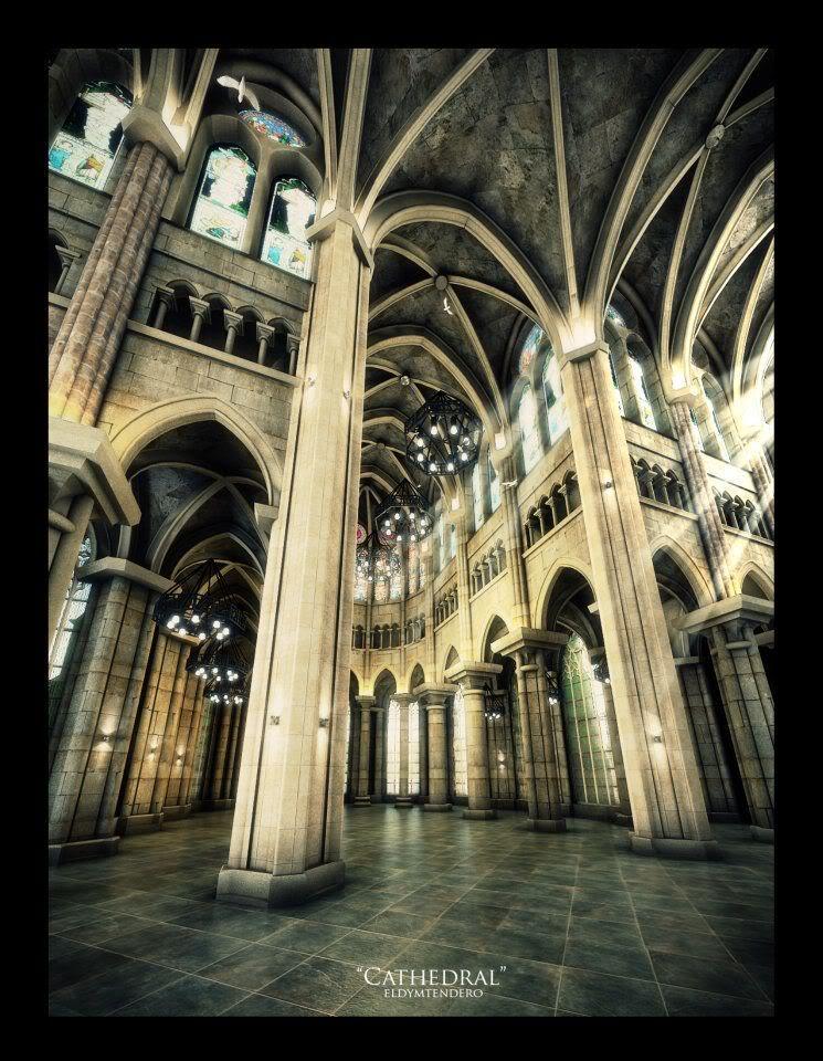 SVA_October Challenge Winners_ Gothic Church ELdyTendero