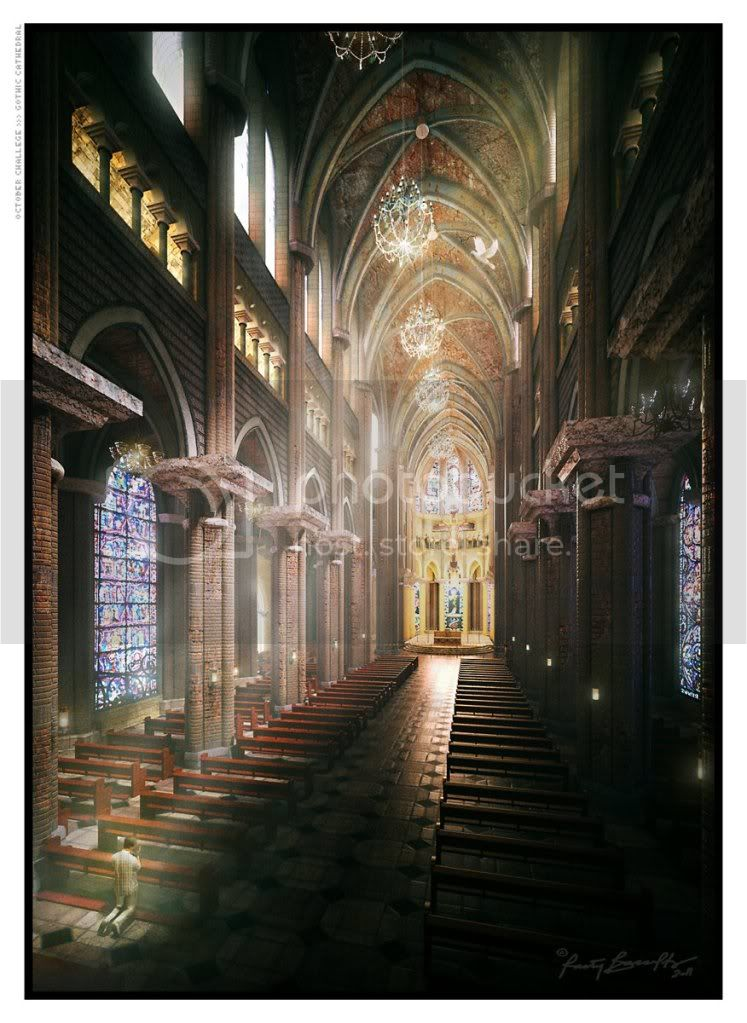 SVA_October Challenge Winners_ Gothic Church RastyBacaltos