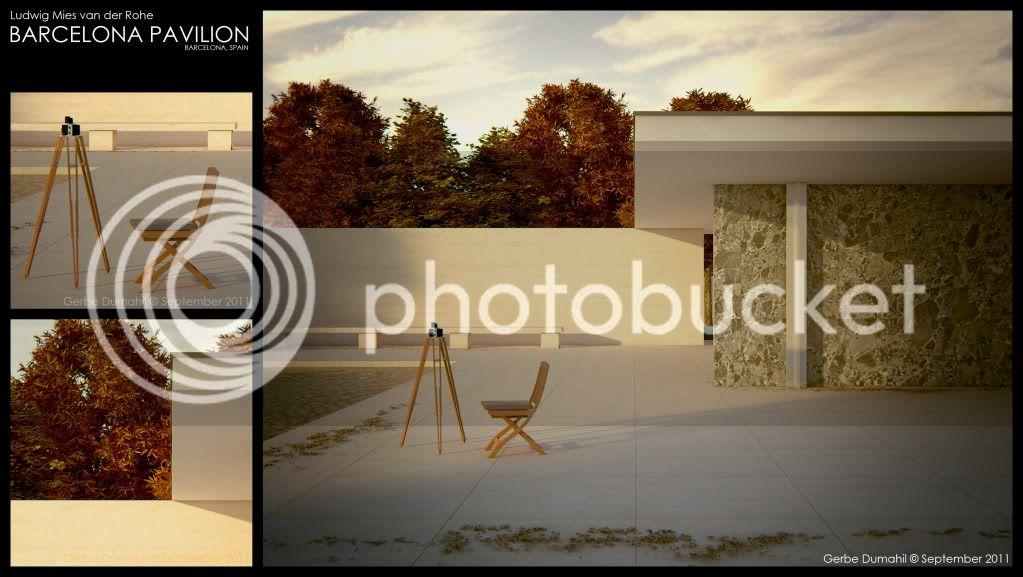 Q and A: Featured Visualizer; Gerbe Dumahil Pavilion1