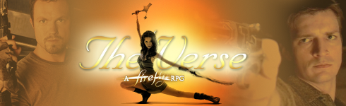 The 'Verse: A Firefly rpg Verse1banner