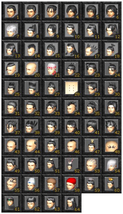 Yokebone Hair Code Warrior Male Male