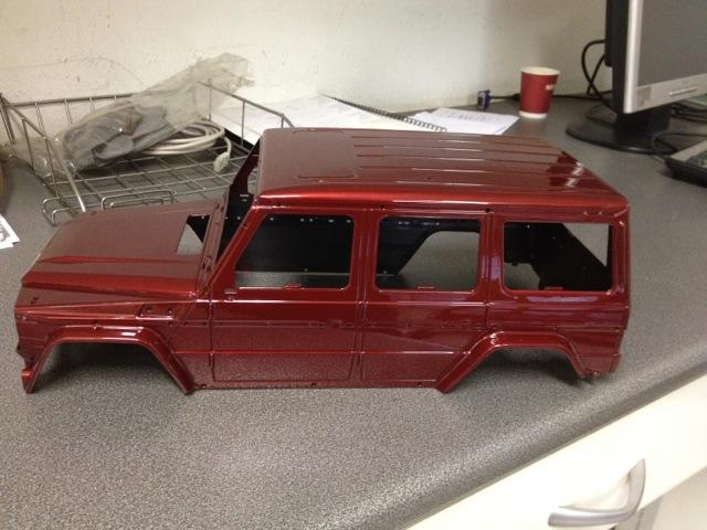 Nuevo proyecto Mercedes G de nikko 160ef93b