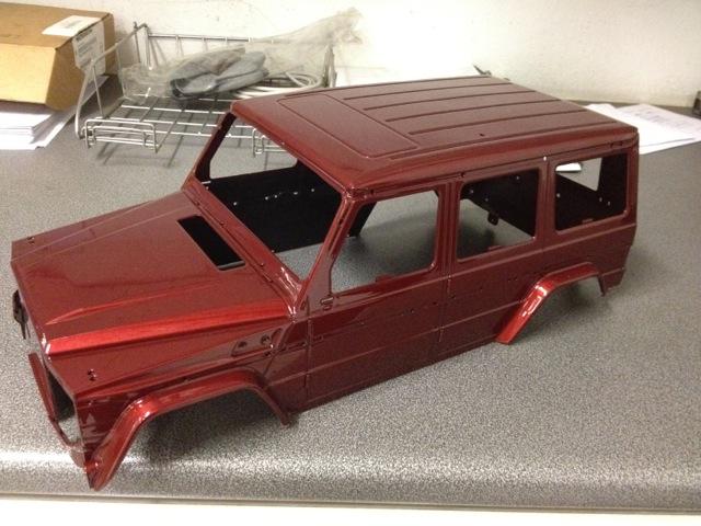 Nuevo proyecto Mercedes G de nikko 7c411a94