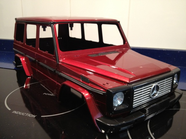 Nuevo proyecto Mercedes G de nikko B5939f24