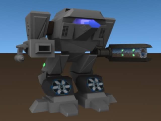 3D_Ninja's 3D Stuff! DireWolf2