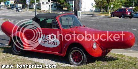 El auto de mis sueños quisiera tenerlo  20090401112518_coche-salchicha