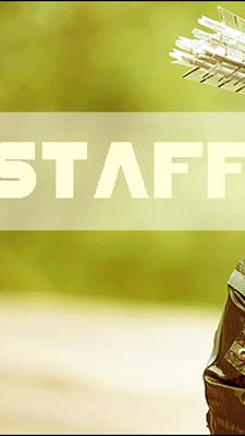 Ficha: Katniss Everdeen Staff
