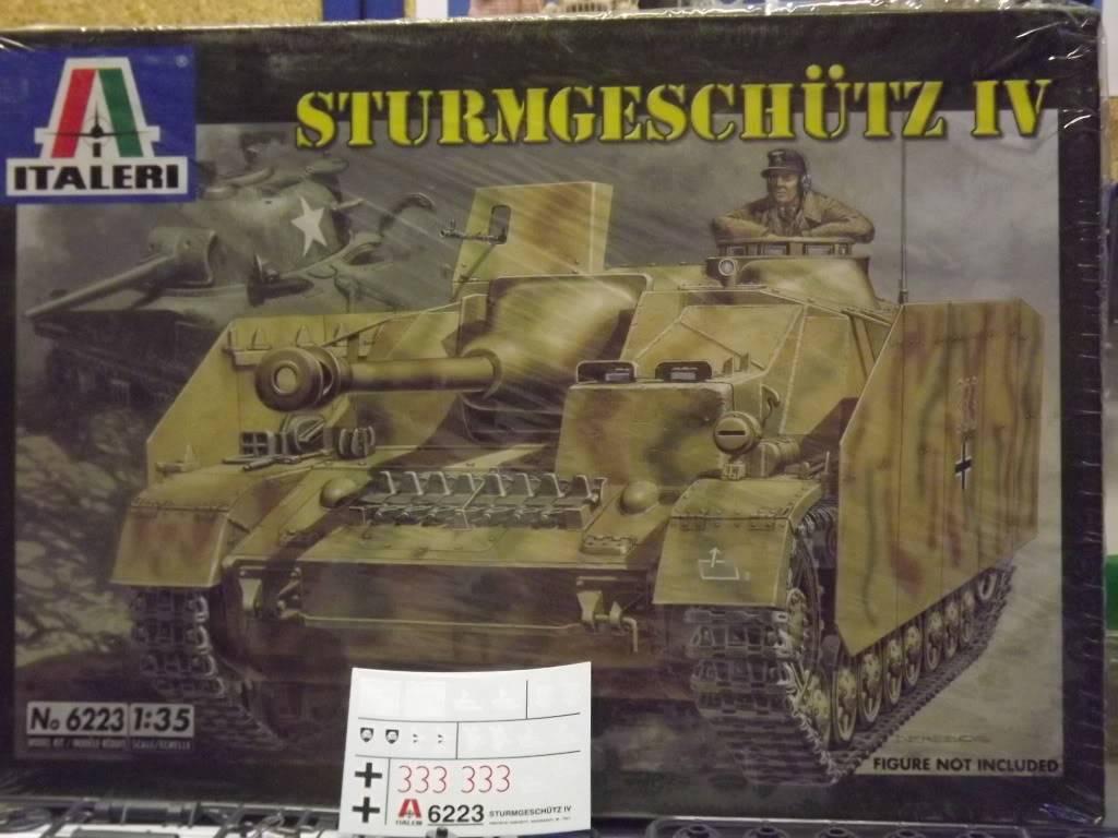 peinture - STURMGESCHUTZ IV 1/35 DSCF0845