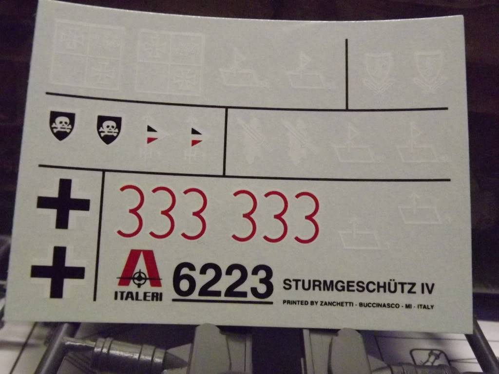 peinture - STURMGESCHUTZ IV 1/35 DSCF0847