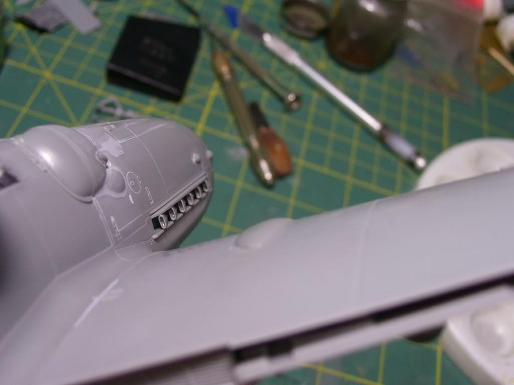 Messerschmitt Bf 109 G-6 Hasegawa 1/32 Alfred Grislawski - Página 2 AvancesMesserschmitt8