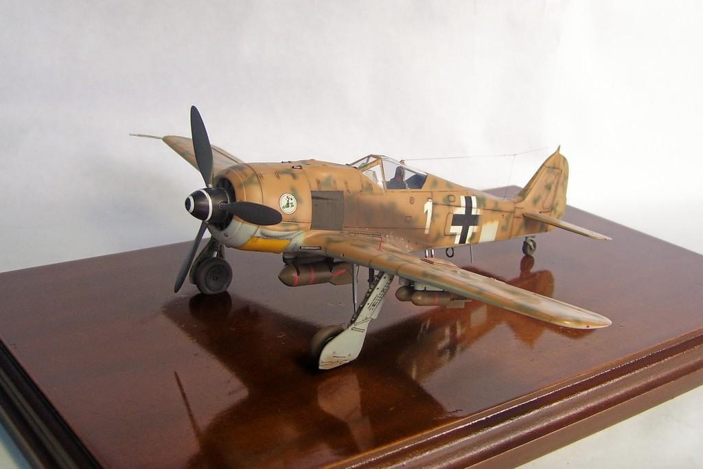 Focke Wulf 190 F-8 Blanco 1, I/SG4 (Tamiya 1/48). FockeWulf190F-8%202