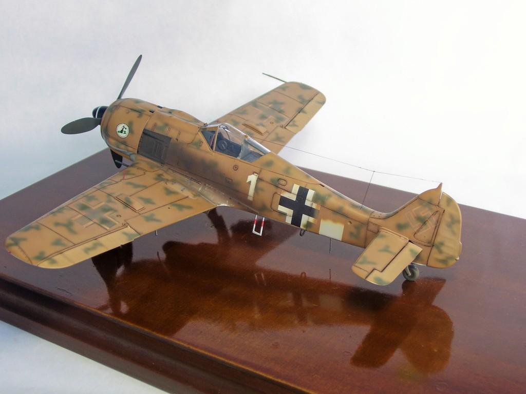 Focke Wulf 190 F-8 Blanco 1, I/SG4 (Tamiya 1/48). FockeWulf190F-8%209