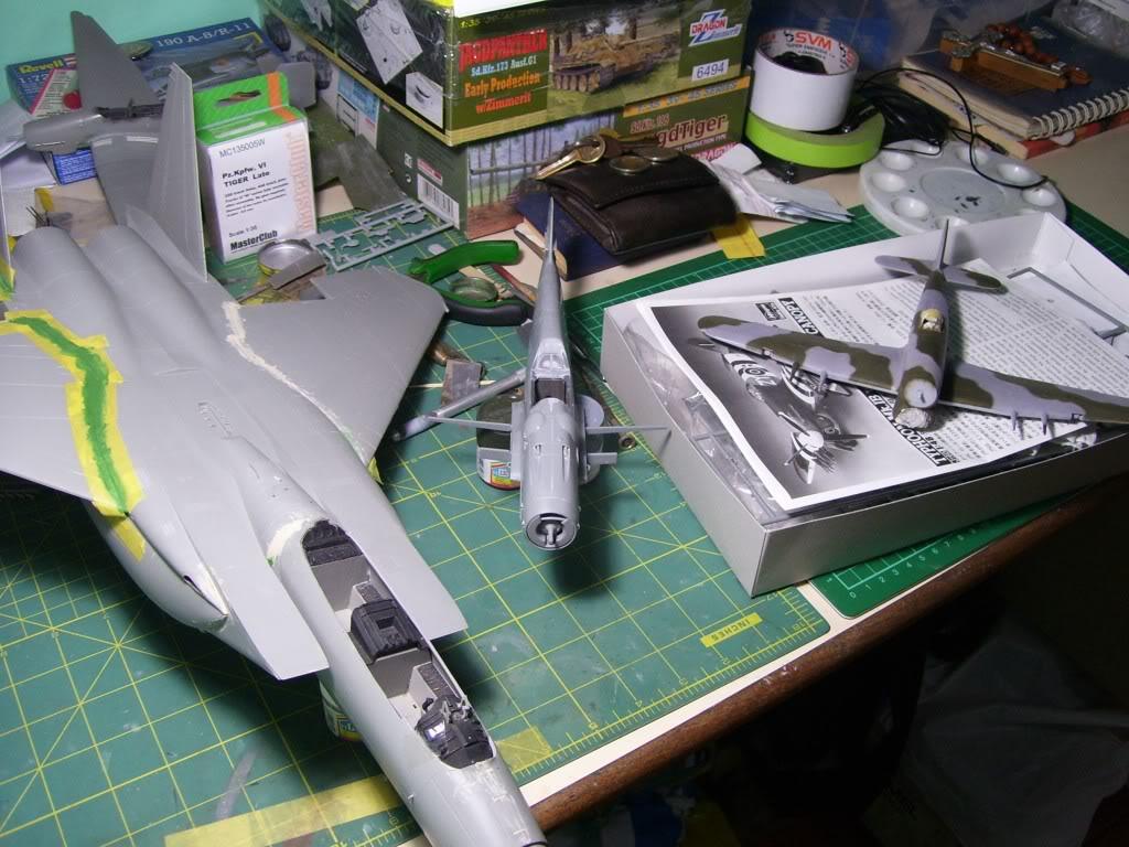 Messerschmitt Bf 109 G-6 Hasegawa 1/32 Alfred Grislawski - Página 2 Messersch7