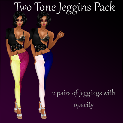 JBC File Sales <<New Files >> Being Posted TwoToneJeggins