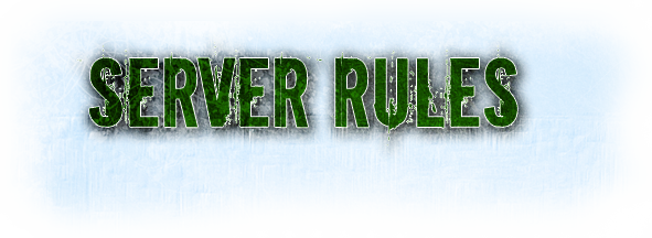 Правила на сървъра! SERVERRULES