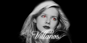 Clases de personajes y grupos Villanos